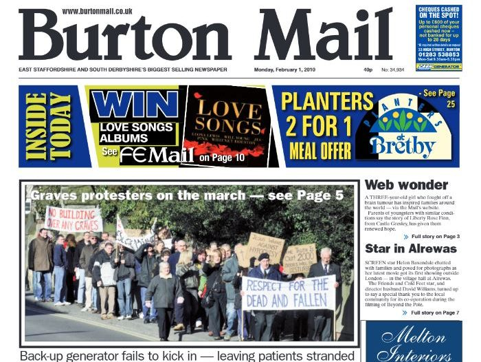 Burton Mail deputy takes helm as editor steps down after 15 years at the daily paper