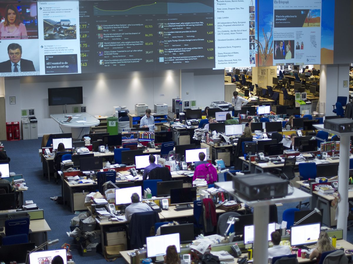 The death of the newsroom means the end of journalism as we know it