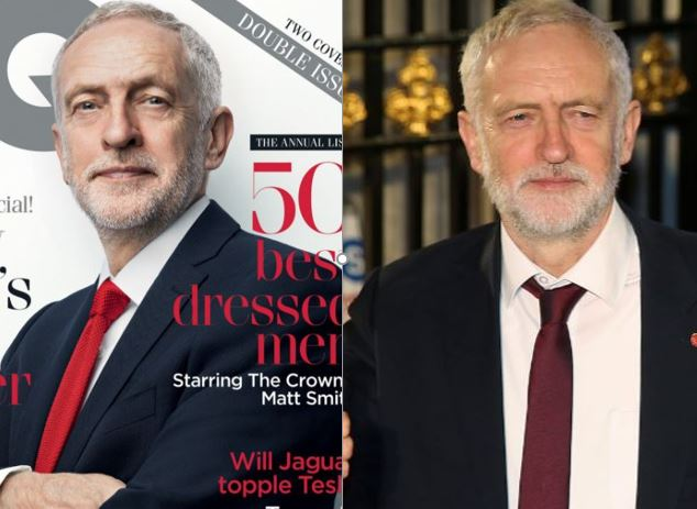 GQ says there was 'retouching' of Jeremy Corbyn image as editor Dylan Jones slates cover star