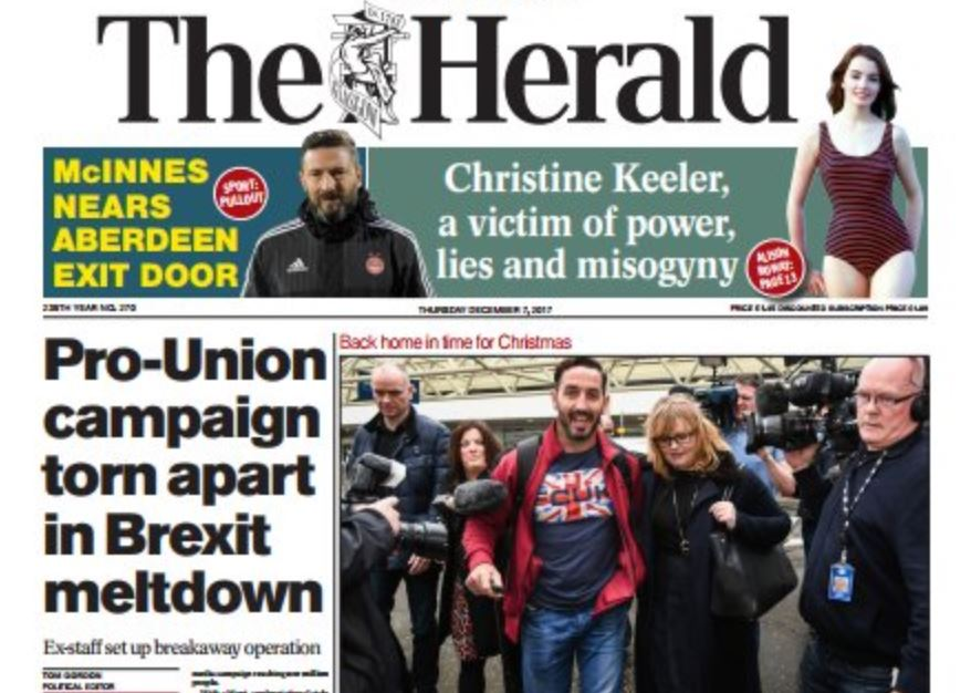 Herald and Evening Times editors sacked by Newsquest after being offered demotions for less pay, MP says