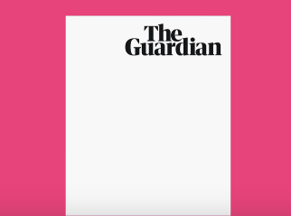 Guardian reveals new masthead ahead of tabloid launch on Monday