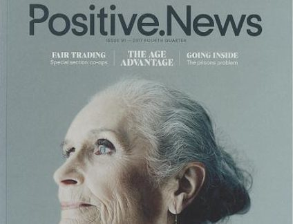 Positive News magazine sees subscriber growth as editor says people don't want journalism that leaves them 'completely hopeless'
