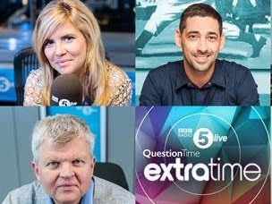 Emma Barnett given Monday to Thursday mid-morning slot on Radio 5 Live