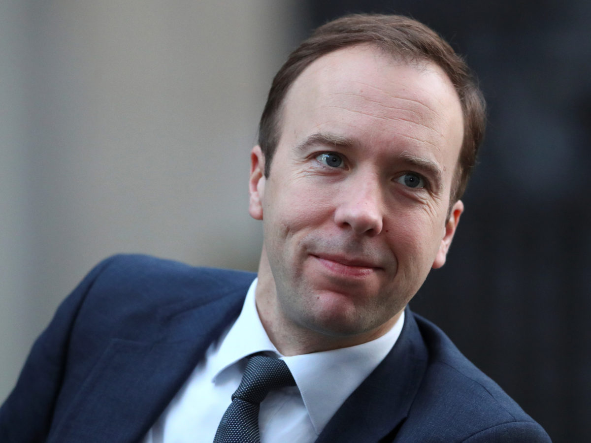 Culture Secretary Matt Hancock 'confident' Cairncross Review into future of UK press will find solutions to help news industry