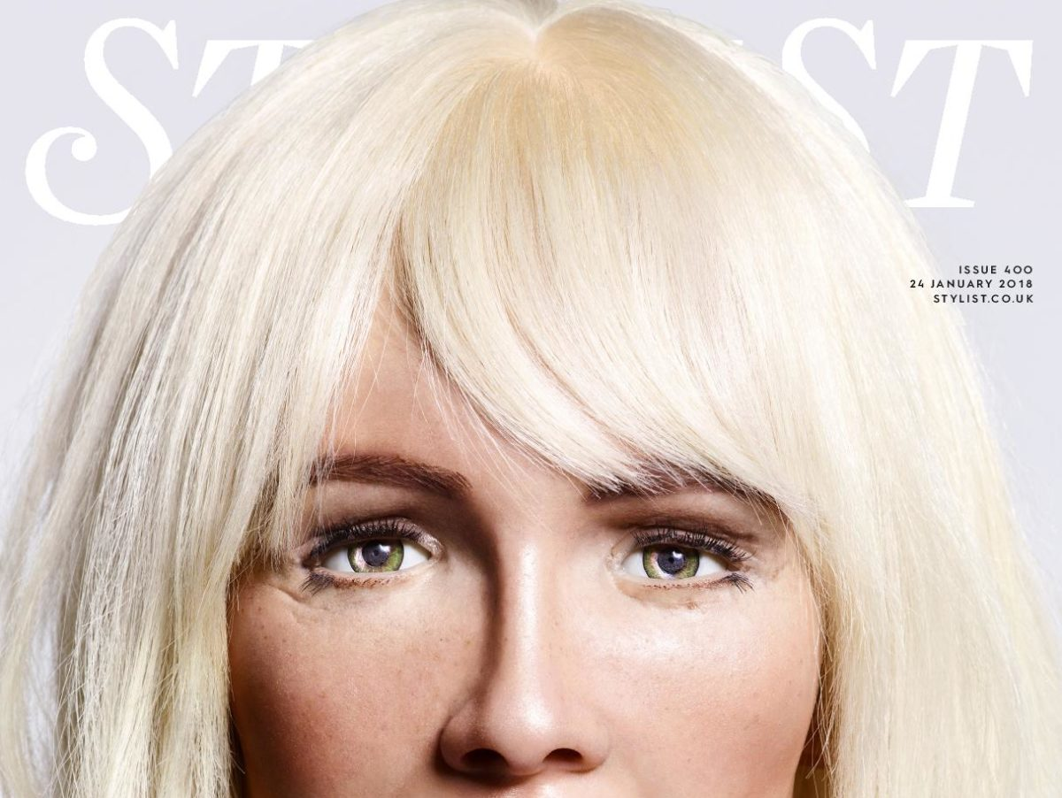 Stylist magazine celebrates 400th edition with 'robot takeover'