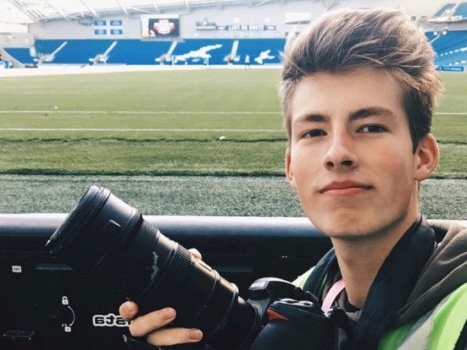 Young photographer is latest victim of equipment thefts from sports stadiums as £10k in kit stolen