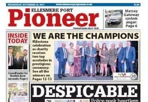 Trinity Mirror axes weekly Ellesmere Port Pioneer after 96 years in print
