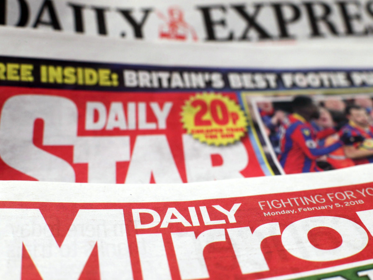 Mirror, Express and Star publisher Reach reports pre-tax loss of £113.5m in first half of 2018 despite revenue growth