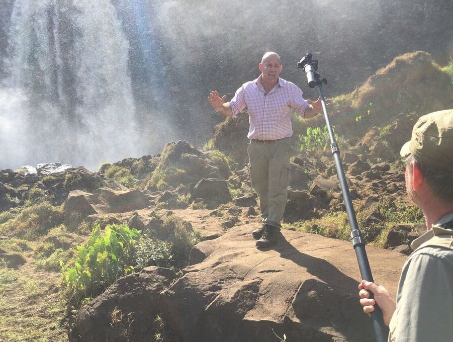 BBC News launches 'virtual reality' series taking viewers on tour of the Nile