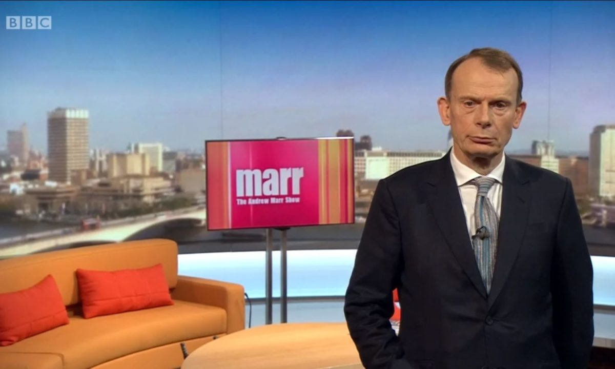 Andrew Marr Show returns to 9am slot after year-long 10am 'experiment'
