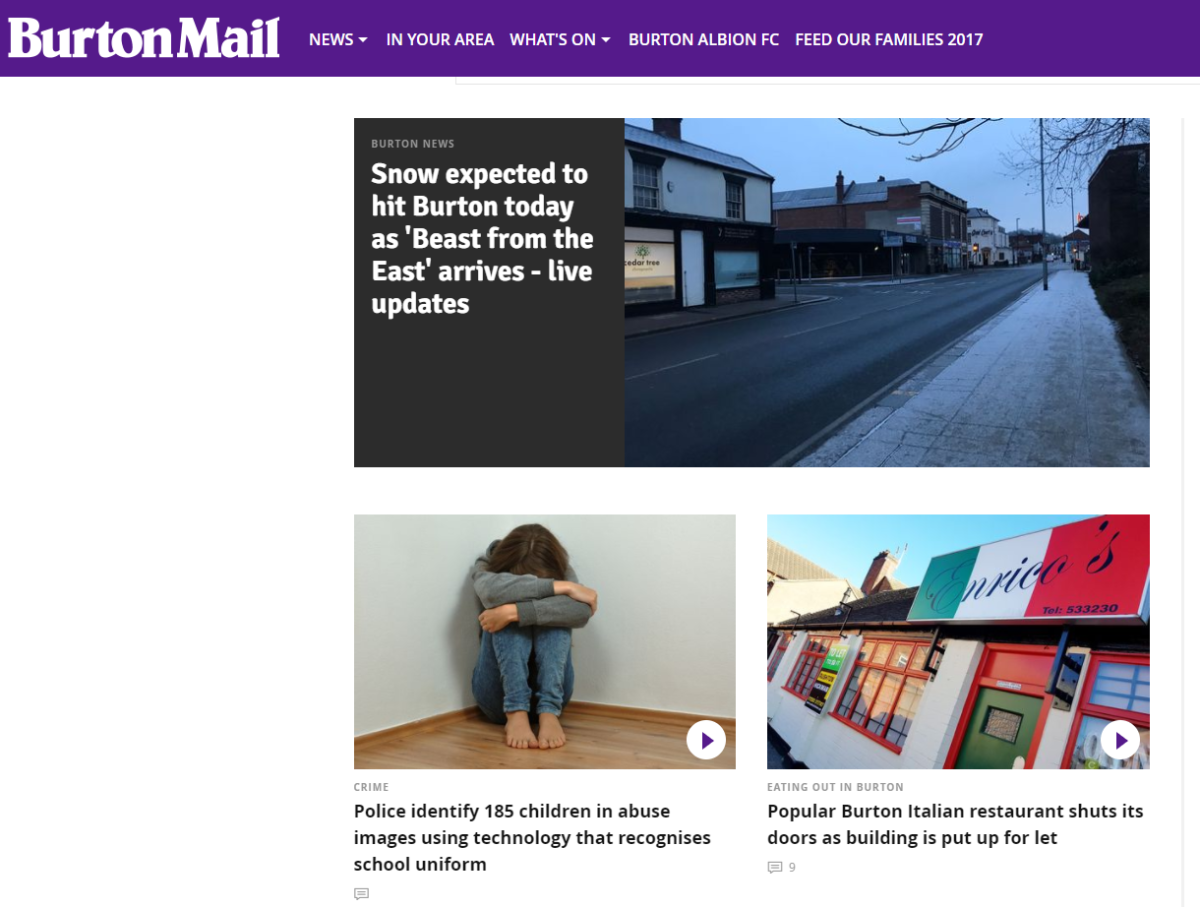 Burton Mail journalists urge Trinity Mirror to rethink web rebrand that would put news from Staffordshire town under Derbyshire Live banner