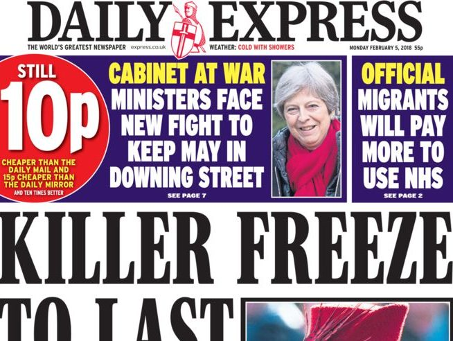£125m Express Newspapers sale back on following pensions breakthrough