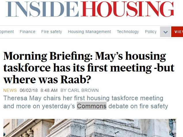 Housing minister accuses award-winning trade magazine of 'peddling fake news'