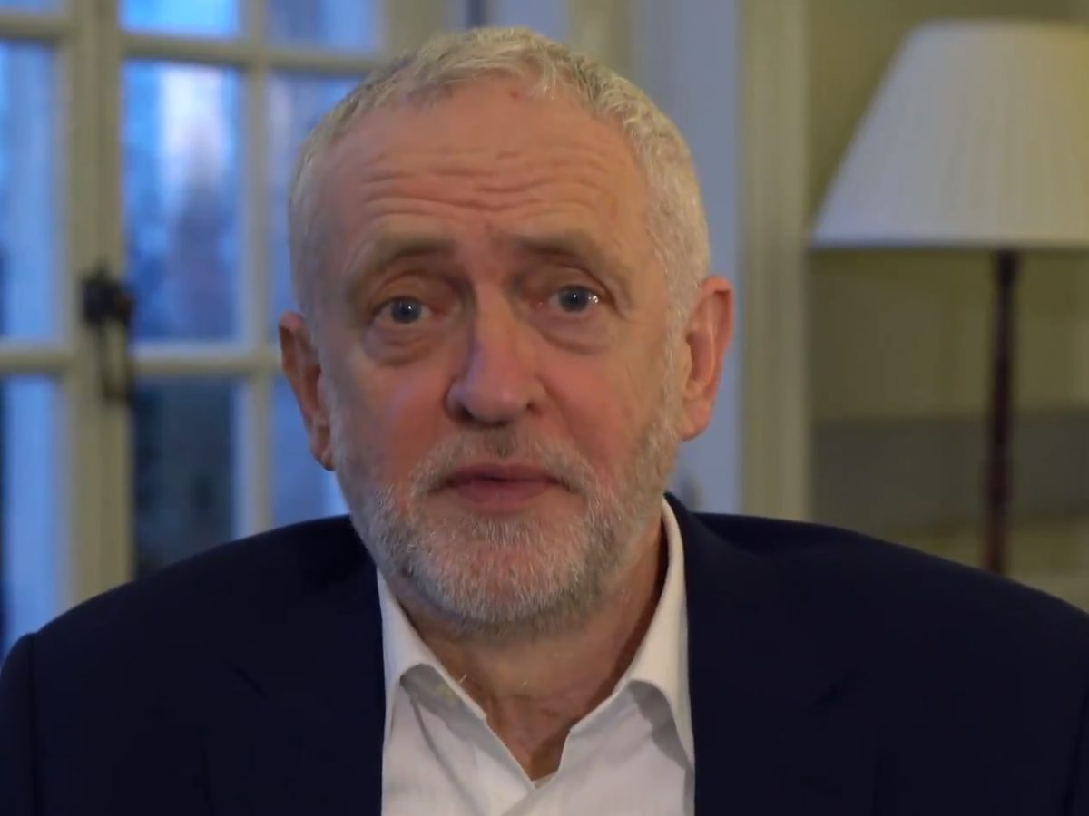 Jeremy Corbyn warns press 'change is coming' in video responding to claims he met communist spy during Cold War