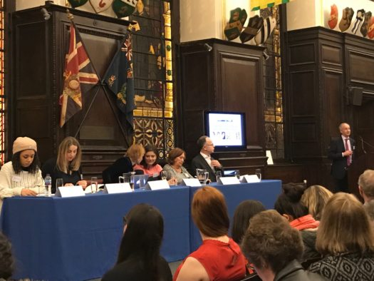 Evening Standard deputy editor Charlotte Ross tells equality debate that 'right now is a very good time to be a woman in journalism'