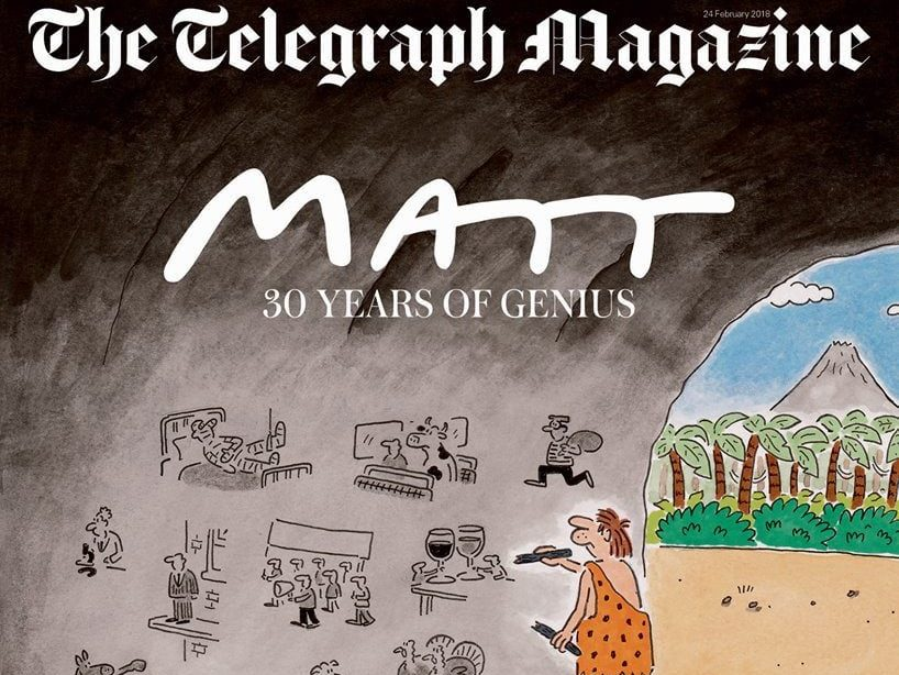 Daily Telegraph celebrates 30 years of Matt cartoons