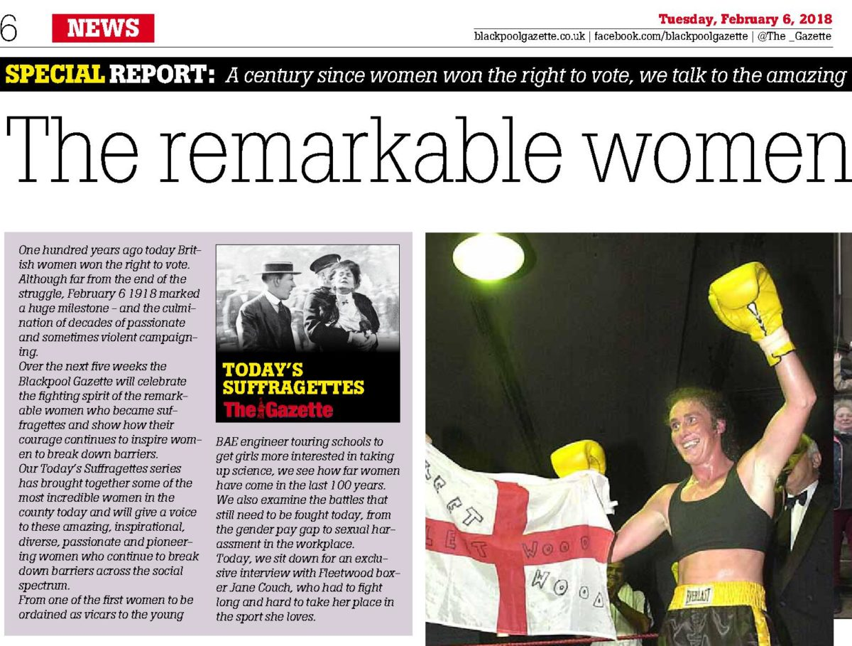 Regional news publishers join forces to celebrate 100 years of women's suffrage