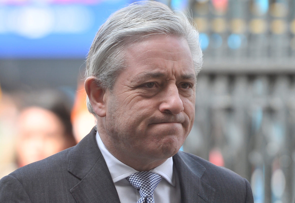 Commons speaker John Bercow calls for 'more women' to be given chance to serve in parliamentary press gallery