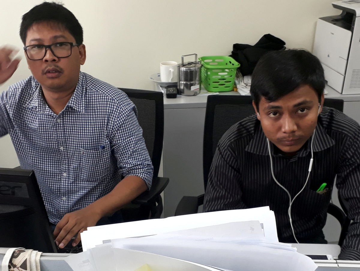 Reuters says Myanmar court hearings will 'show innocence' of its two jailed journalists