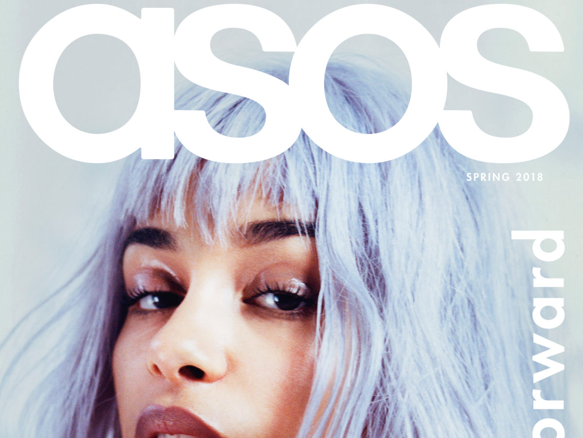 The UK's most widely-read quarterly fashion magazine ASOS celebrates 100th issue by going on sale for first time