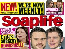 TI Media closes Soaplife magazine less than six months after move to weekly as 'sales not sufficient to make title viable'