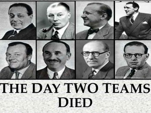 New book tells the forgotten story of eight sports journalists killed alongside the 'Busby Babes' in 1958 Munich air crash