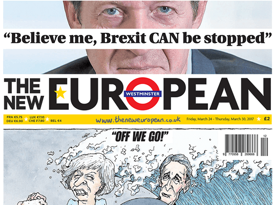 The New European editor asks BBC director general why pro-Remain title not included in paper reviews