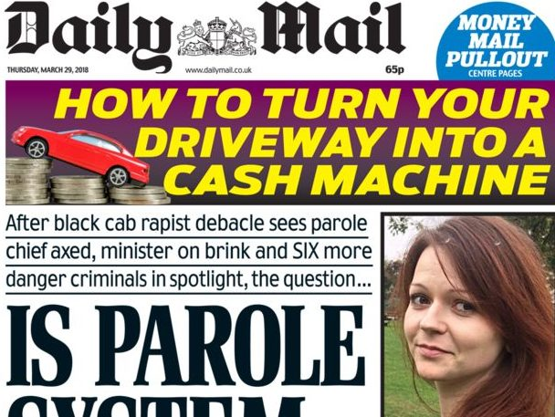 Gender pay gap of 19.6 per cent at Mail and Metro publisher DMG Media