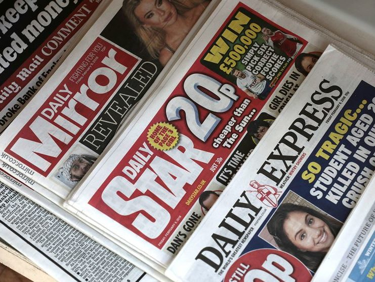 Competition watchdog looking at Trinity Mirror takeover of Express Newspapers but no formal investigation launched