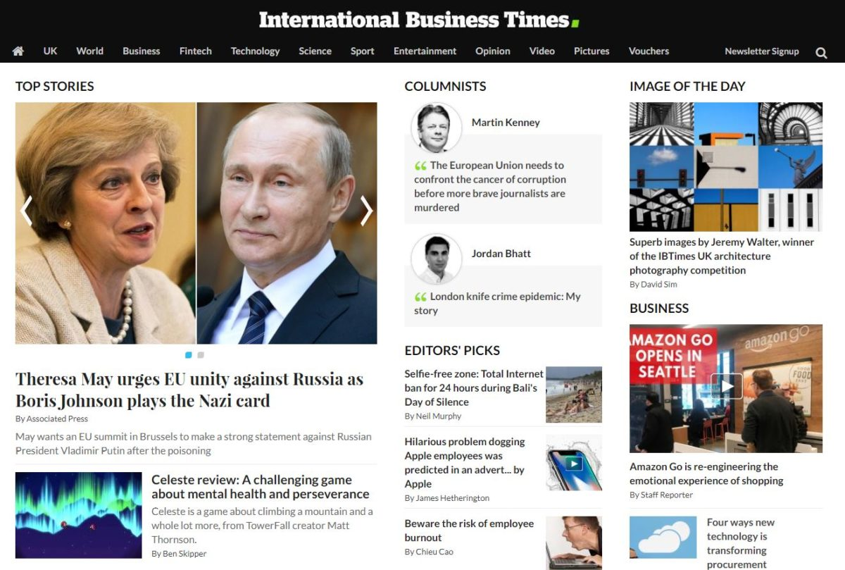 IB Times UK website left 'dying' and 'doomed' as newsroom bereft of journalists following staff cuts