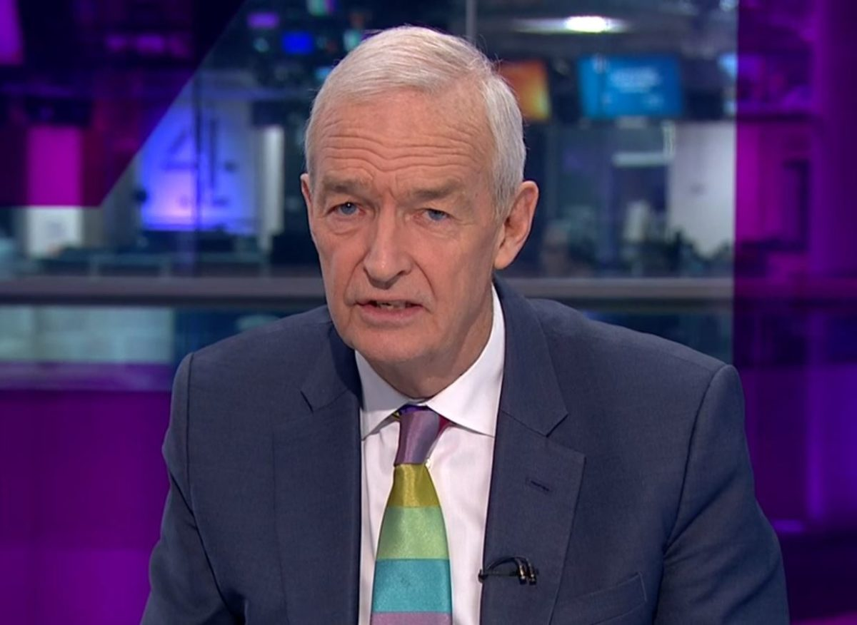 Channel 4 News presenter Jon Snow takes voluntary wage cut in gesture to help bridge gender pay gap