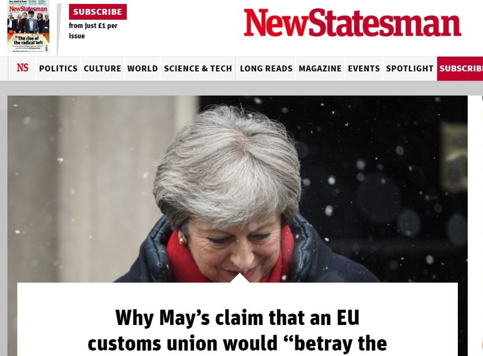 New Statesman to start charging for website access with