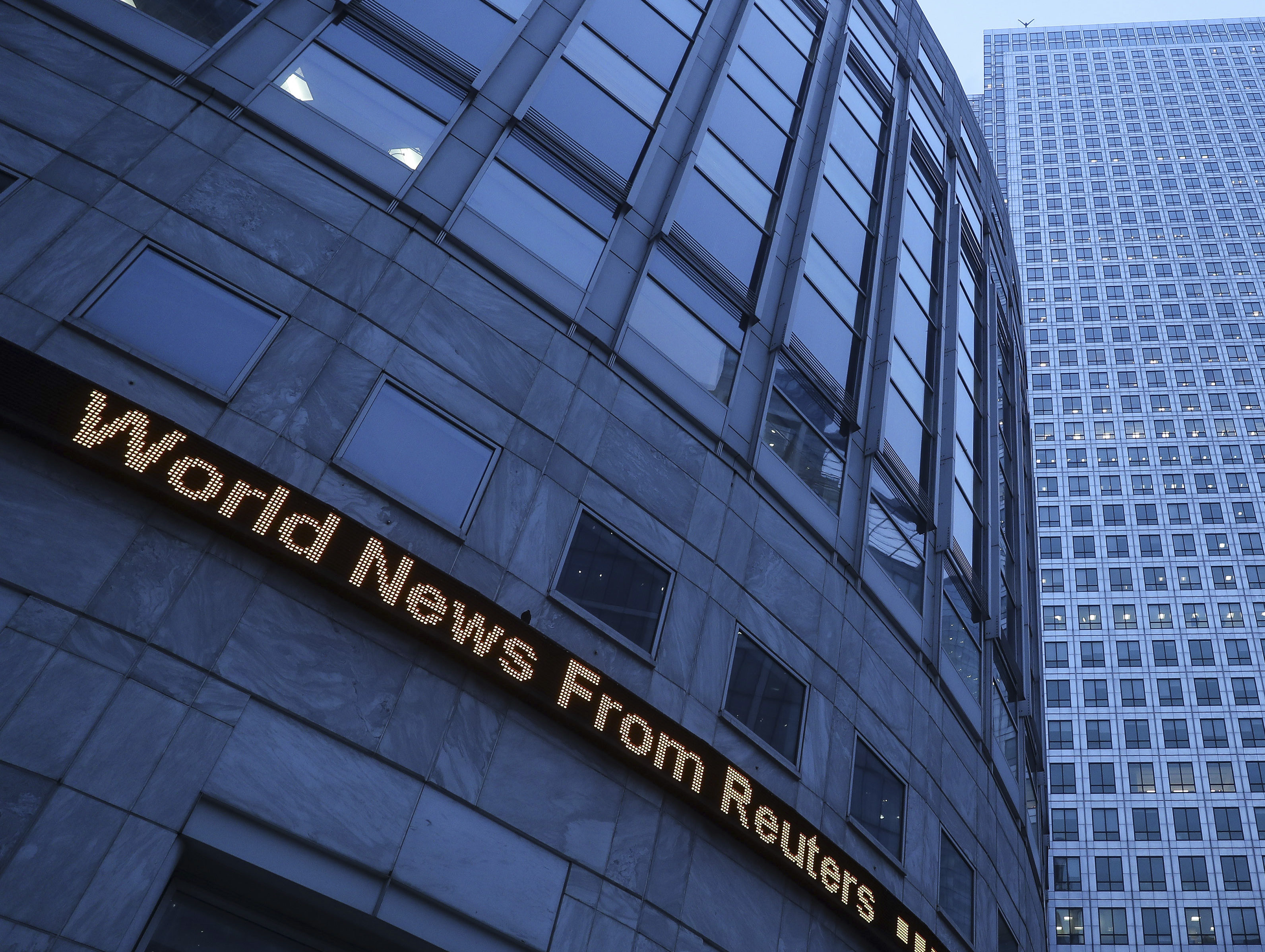 Journalist jobs to go at Reuters news agency in global review of newsrooms