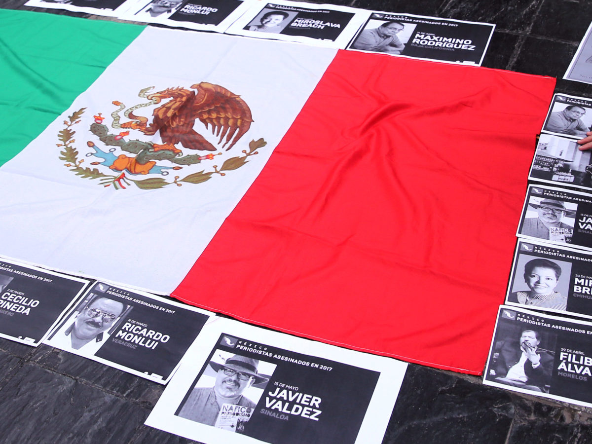 CPJ urges Mexico to fix 'press freedom crisis' after three journalists killed in four days