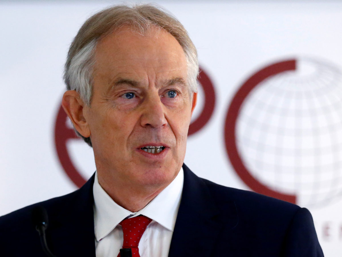 Tony Blair says 'uncomfortable' relationship with right-wing press was a 'necessary evil' during premiership