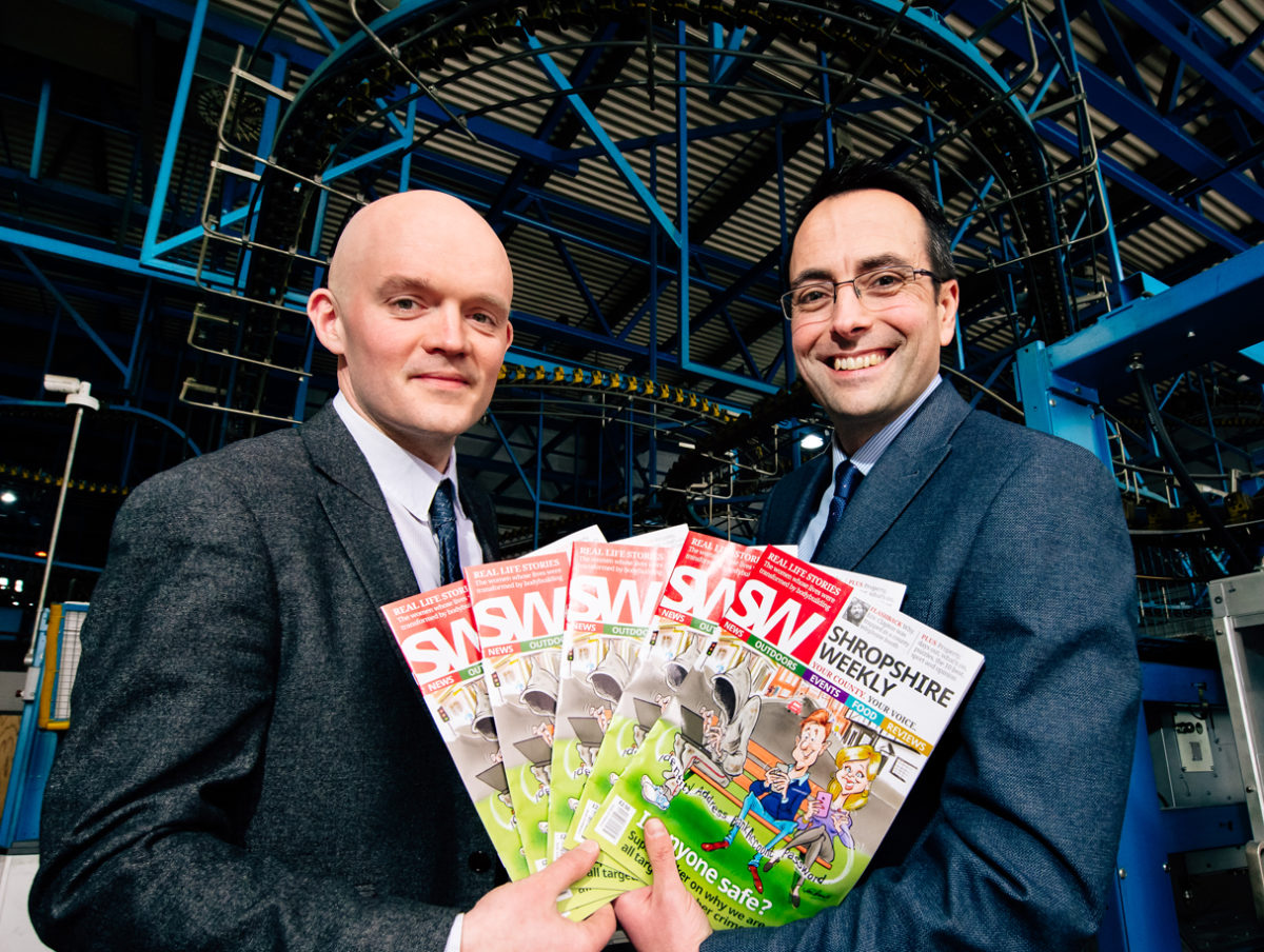 Midlands News Association launches new weekly digest magazine for Shropshire creating three editorial roles