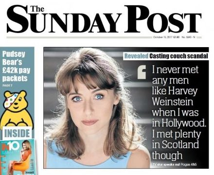 IPSO upholds complaint from Scottish actress over interview in Sunday Post despite partial copy approval