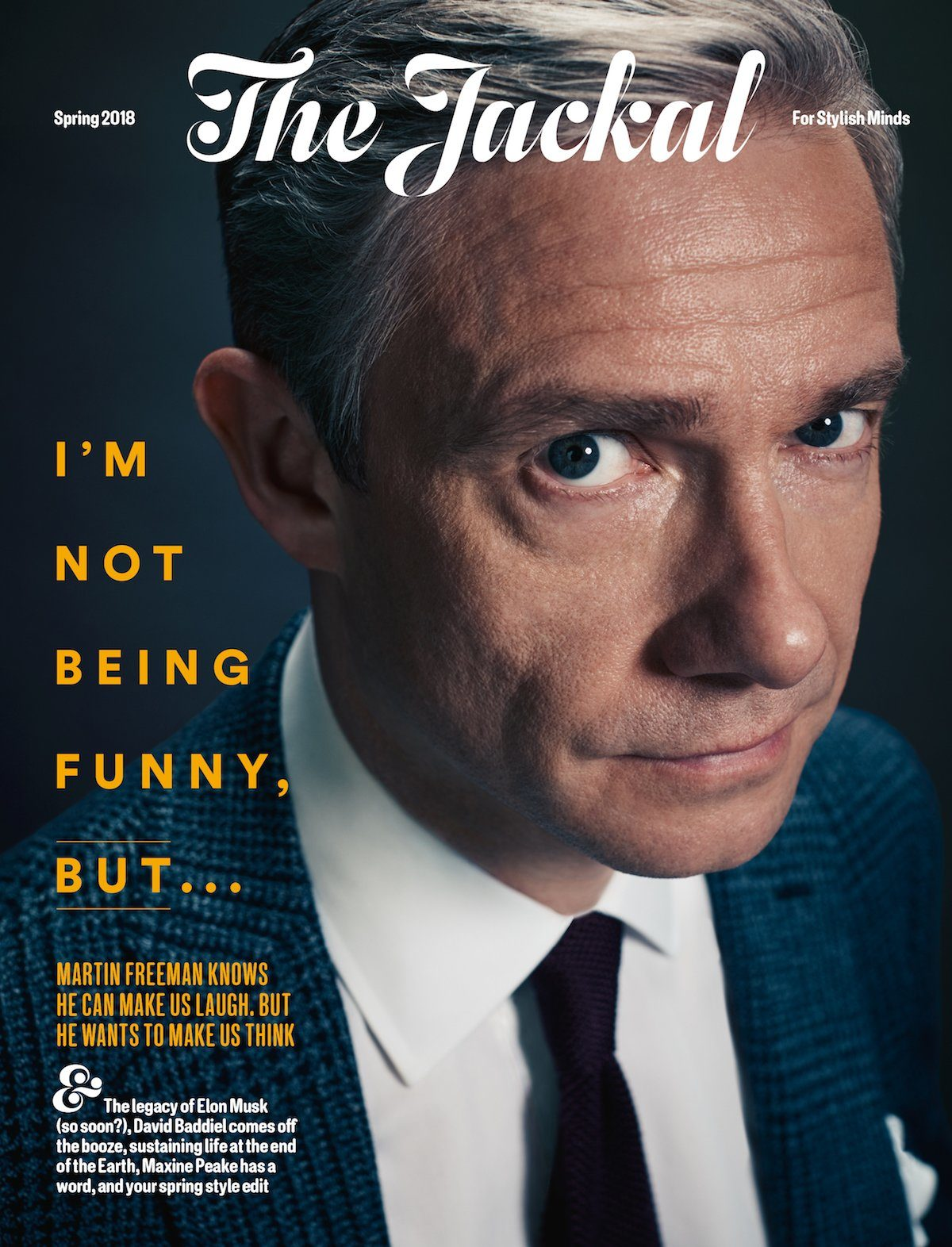 Men's magazine The Jackal celebrates its first year in print as editor Robin Swithinbank aims to please 'stylish minds'