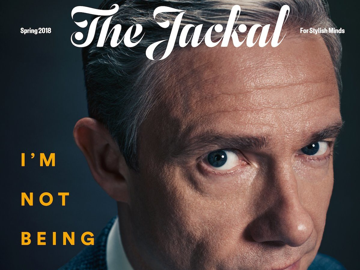 Men's magazine The Jackal celebrates its first year in print