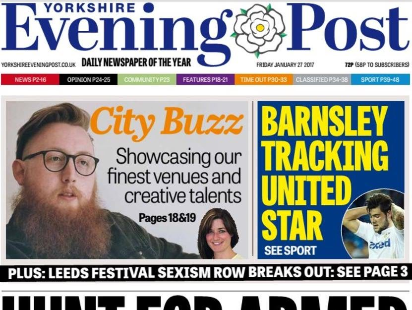Regional ABCs print: Steep circulation falls for dailies the Yorkshire Evening Post and Carlisle & News Star