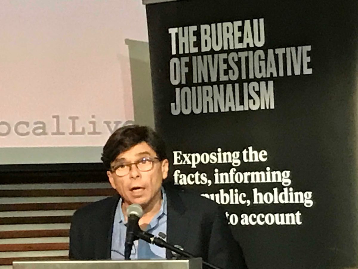 Spotlight reporter Mike Rezendes says investigative reporting is driving subscriptions at Boston Globe