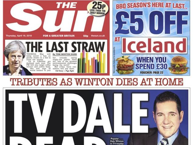 National newspaper ABCs: Sun regains top spot as City AM, Times and Observer fare best amid industry-wide circulation decline