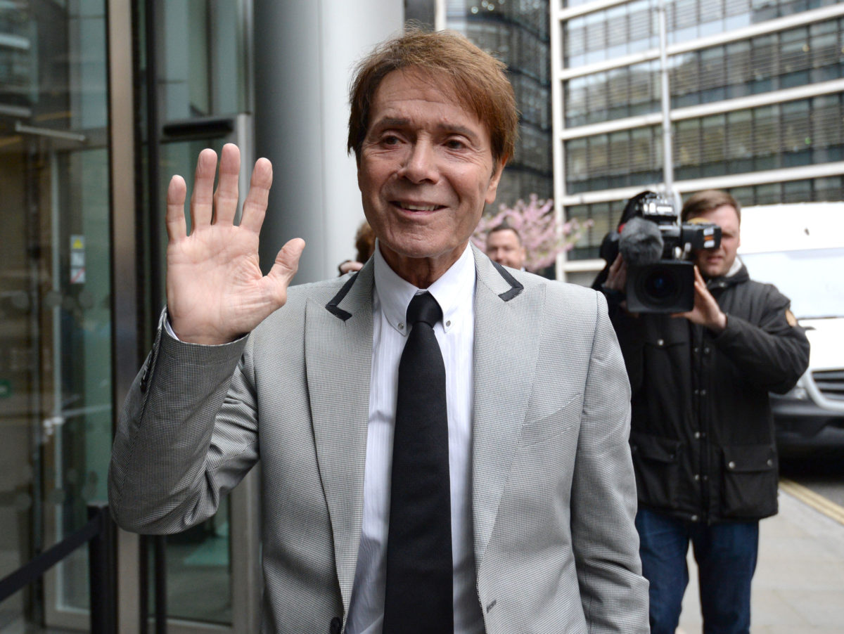 Senior BBC editor did not have 'any concerns' over use of helicopter to broadcast raid on Cliff Richard's home, judge hears