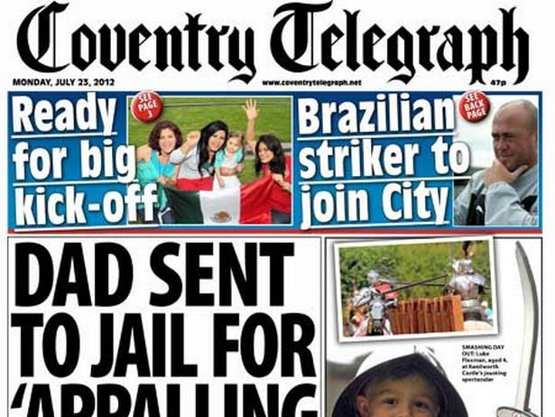 Coventry Telegraph head of audience steps down after ten years at Trinity Mirror to go freelance