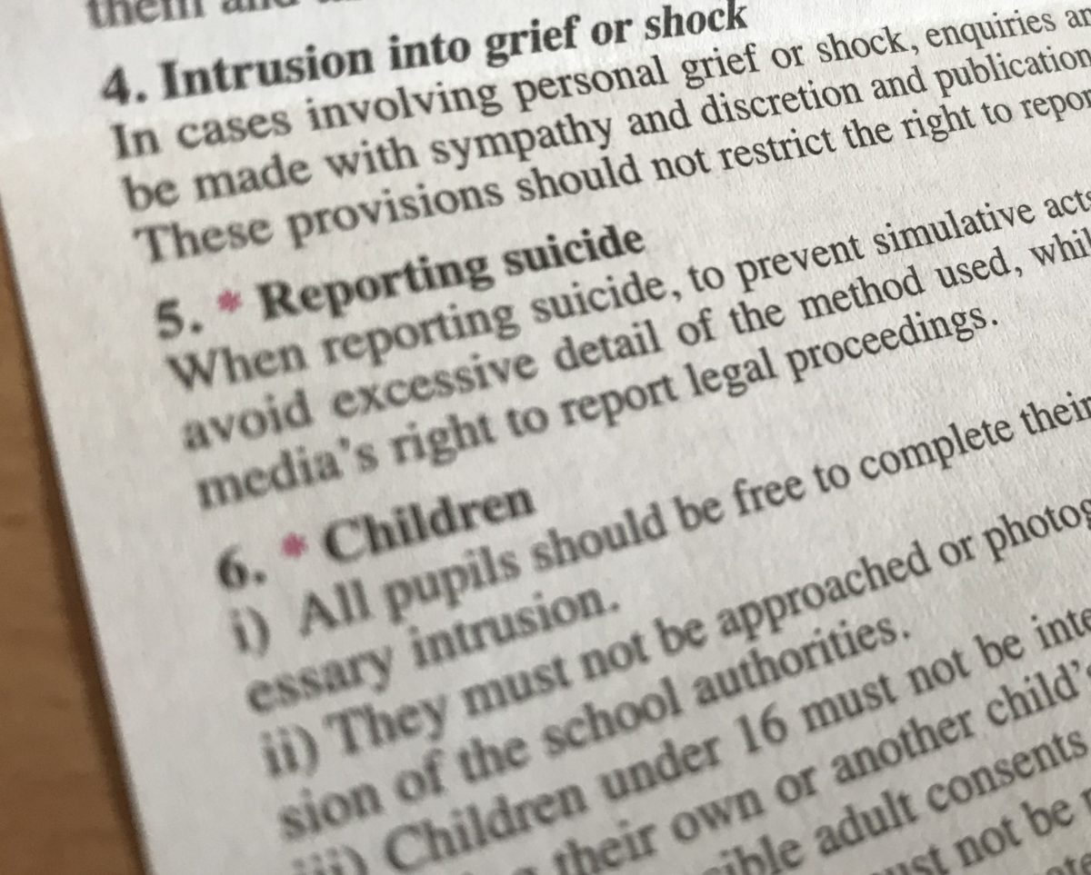 Academic urges journalism lecturers to step up teaching on suicide reporting