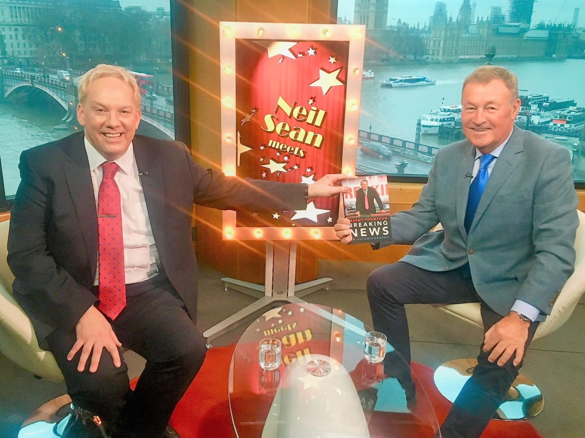 Video: Sky News veteran Jeremy Thompson talks to Neil Sean about his 40-year career in news