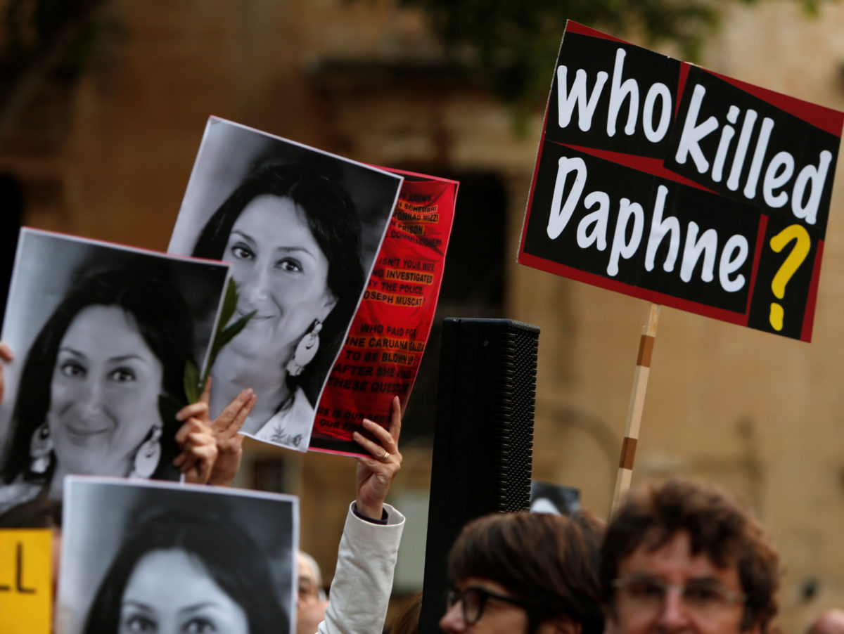 Vigils held in eight cities to mark six months since murder of Maltese journalist Daphne Caruana Galizia