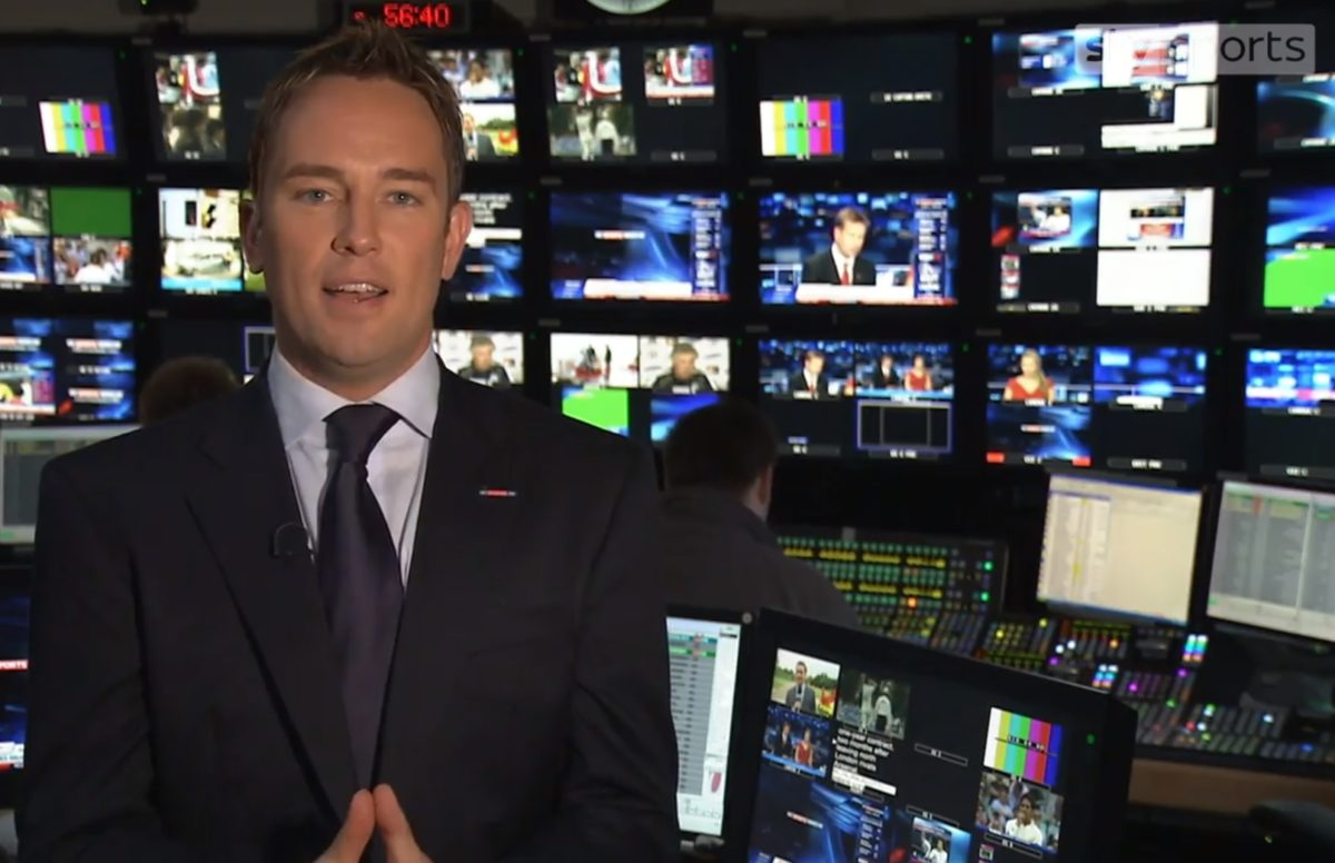 Simon Thomas leaving Sky Sports after football season to care for son following wife's death