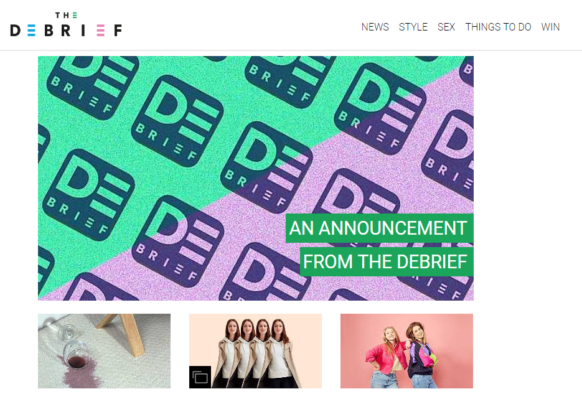 Lifestyle website The Debrief announces closure after four years of championing feminist issues