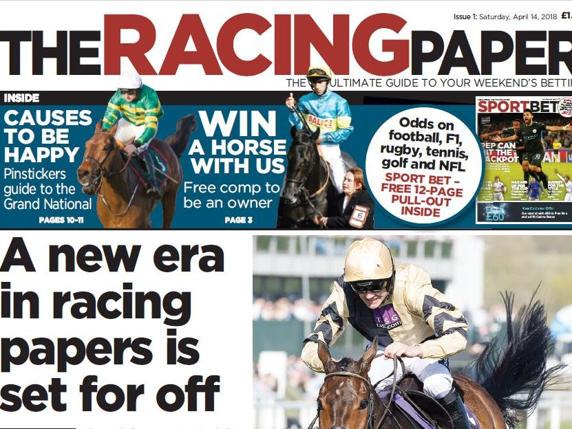 Team behind the Football Paper launching new horse racing weekly ahead of Grand National